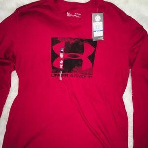 Under Armour Cranberry men's long sleeve shirt XL